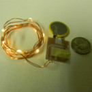 10-LED Copper Wire Light