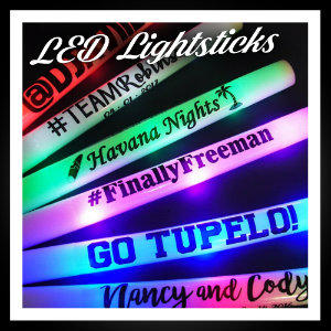 LED Light Sticks / Foamsticks