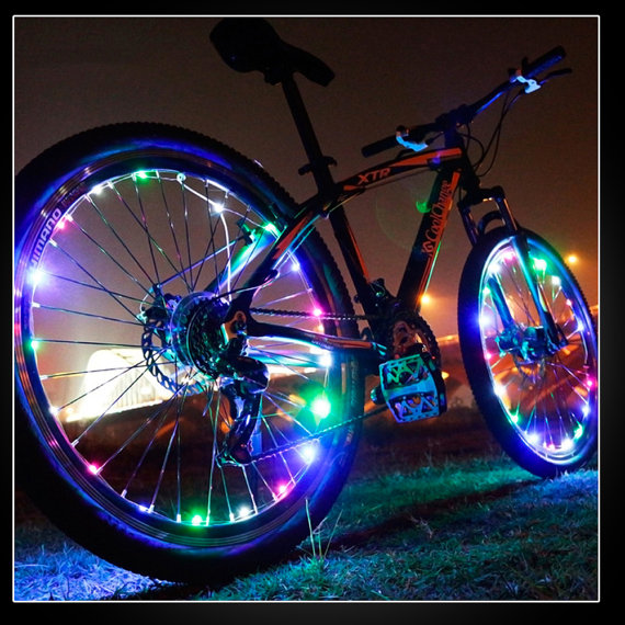 Item Code: WHEELLITE - Rechargeable Bicycle Wheel Lights
