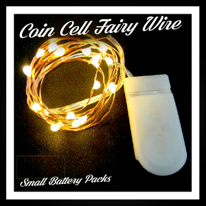 Fairy Lights: Small (Coin Cell)