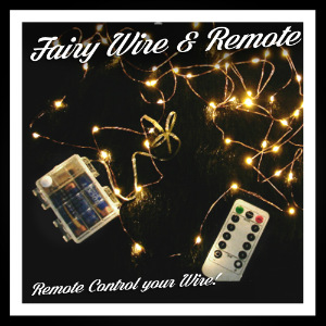 Fairy Lights: Remote Controlled