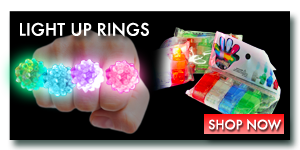 LED Light Up Rings