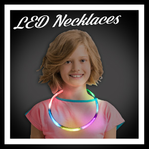 LED Light Up Necklaces