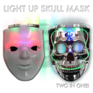 Light Up Mask and Skull Mask in One!