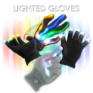 Flashing LED Lighted Gloves