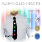 Light Up LED Neck Tie