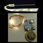 6 Fairy Light LEDs on 22-inch String Wire