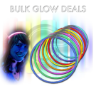 300 Assorted Glow Necklaces