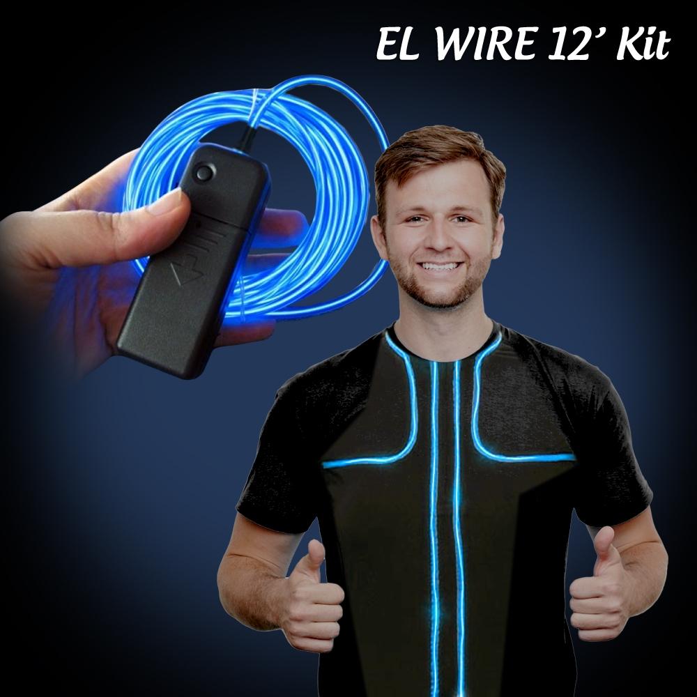 Extreme glow foot el wire kit