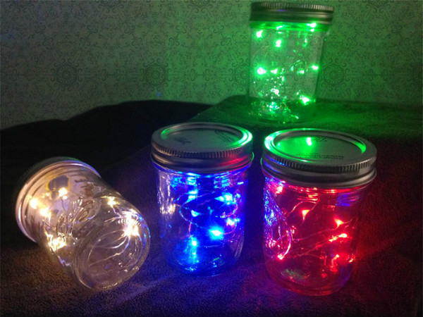 10 Fairy Lights on Copper or Silver Wire