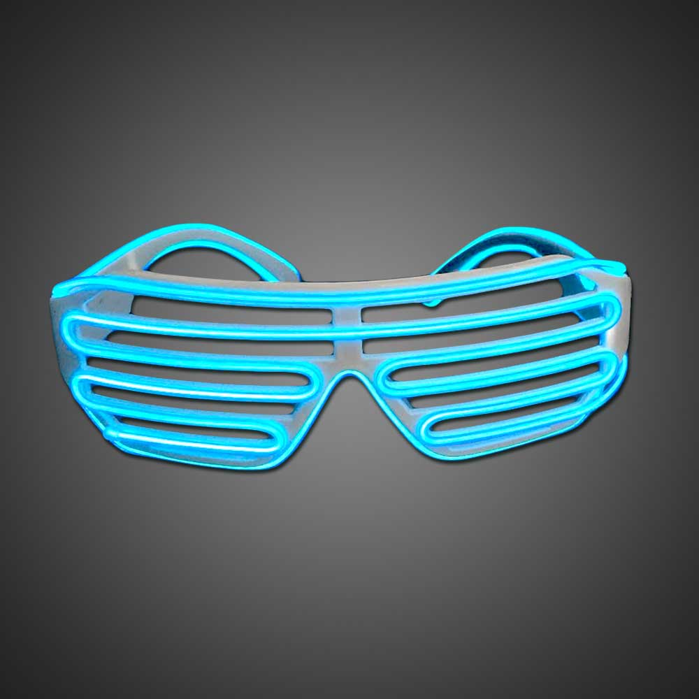 Extreme Glow El Wire Shutter Shades