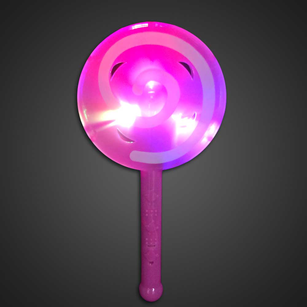 LED Flashing Lollipop Toy Pink Plastic LED Toy, Lighted Lollipop, Light Up Lollipop, birthday party toy, gift bag toy, flashing lollipop, kids, toys, summer