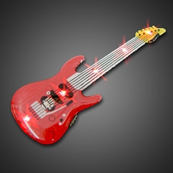 Red Guitar Body Lights body lights, blinkies, blinky, magnetic body light