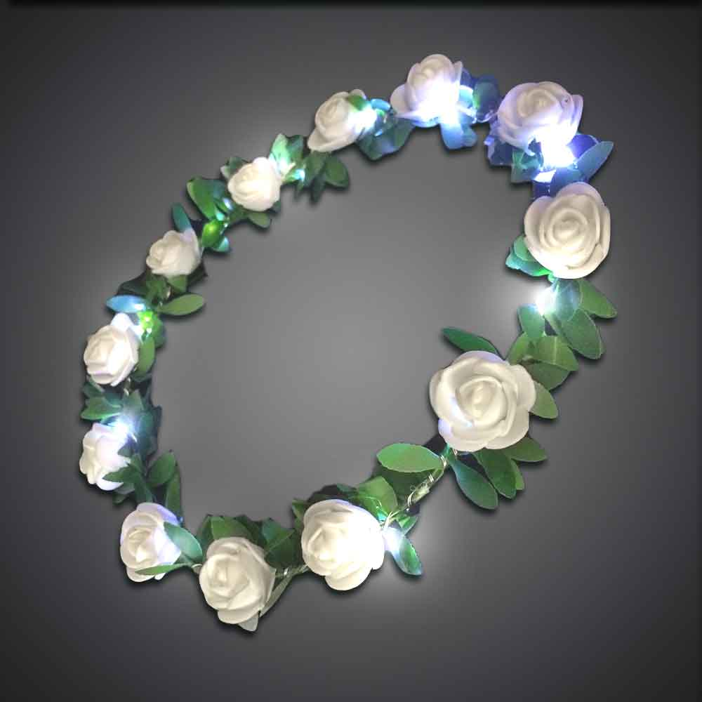 Rose Crown  crown, rose headband, headband, flower band, led headband, led head bopper, edc, edm, coachella, burning man