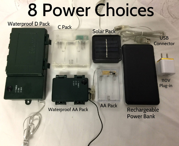 Extreme Glow Power Packs With Built In Timers