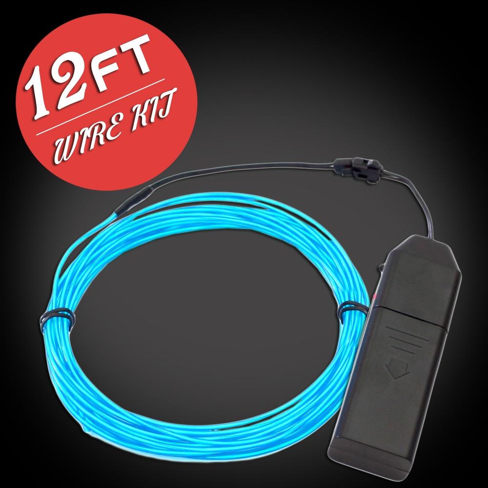 Extreme Glow 12-foot EL Wire Kit