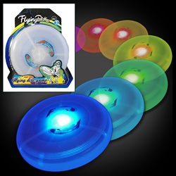 Light Up Flying Discs