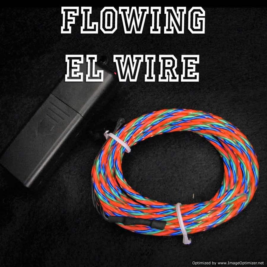 Multicolor Fat Flow EL Wire Kit