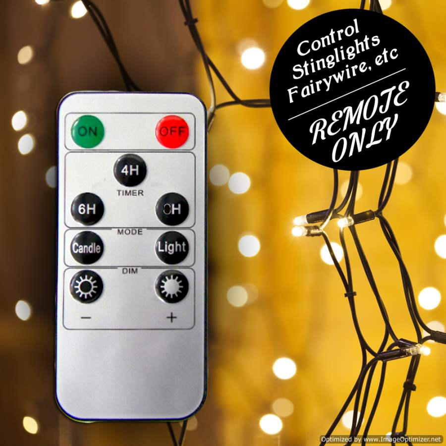 String Lights Remote Control : REM1607: Remote Control for String Lights