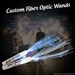 CUSTOMIZED Fiber Optic Wand  - FIBERWANDcustom
