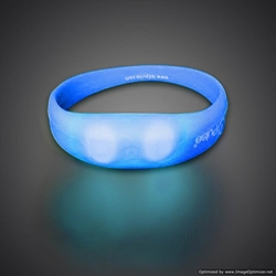 Silicone Motion Activated Bracelet pulse, motion activated, motion bracelet, brmotion, LED Bracelet, Lighted Bracelet, Light Up Bracelet, Flashing Bracelet, fundraiser, school, kids, give away, cheap, inexpensive, vend, party, mitzvah, running, night, glow run, race, rave, EDM, festival, school, pep rally