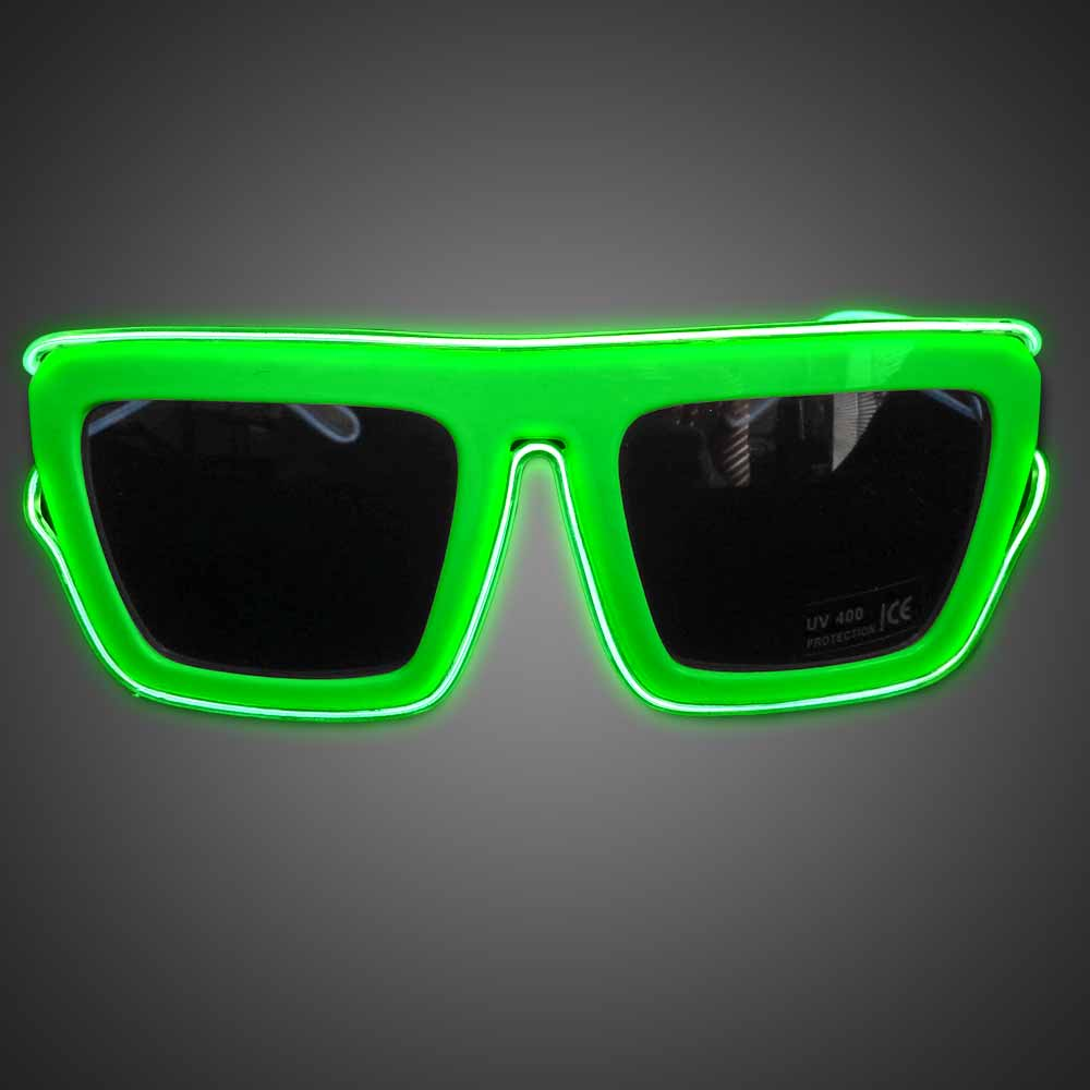 Extreme Glow Freedom Fighter EL Wire Glasses
