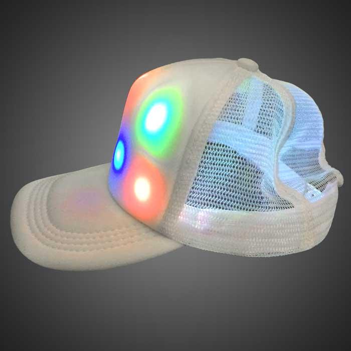 lighted baseball hats led caps cap trucker hat manufacturers
