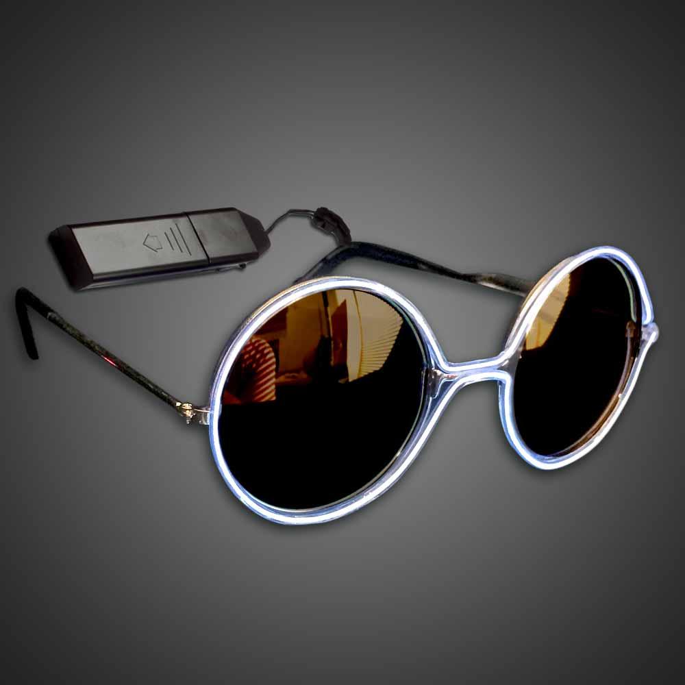 Extreme Glow Round EL Wire Glasses