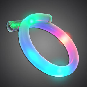 3 LED Curl Bracelet LED Bracelet, Light Up Bracelet, Flashing Bracelet, tri curl, multicolored, bangle, wrap around, edc, edm, rave, festival