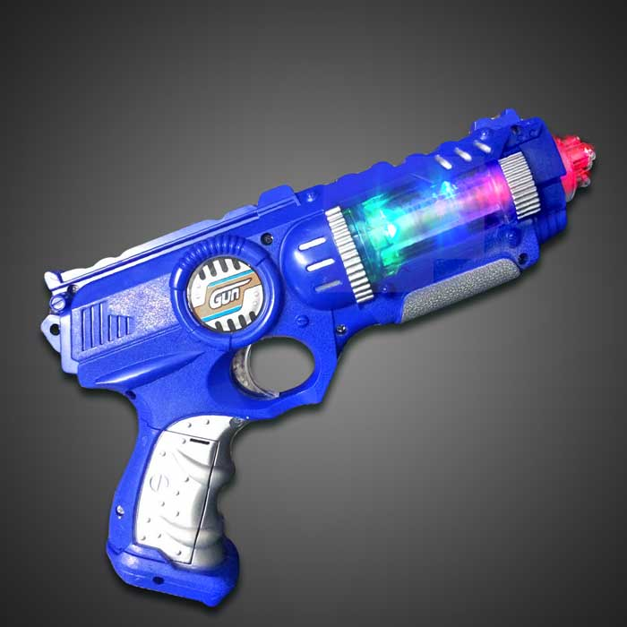 Space Gun - CLOSE OUT lighted gun, light up gun, toy gun, sound, alien, space, costume, halloween, boy, toy, birthday