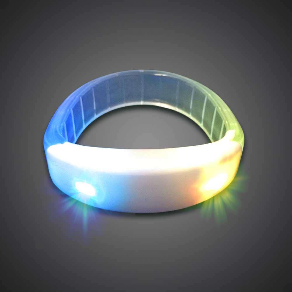 Extreme Glow Flashing Acrylic Bracelet