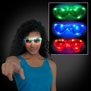 Light Up Wrap Around Sunglasses