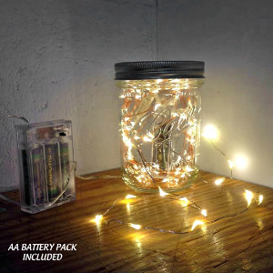 18 Fairy Lights on 3-ft wire:  Cool or Warm White