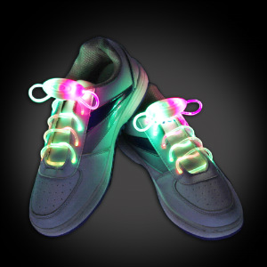 Fiber Optic LED Shoelaces