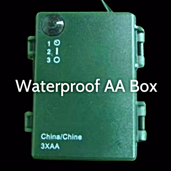 Waterproof AA Battery Pack