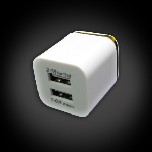2-port USB Wall Plug