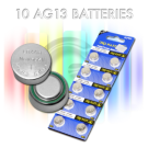 Replacement AG13 Button Cell Batteries
