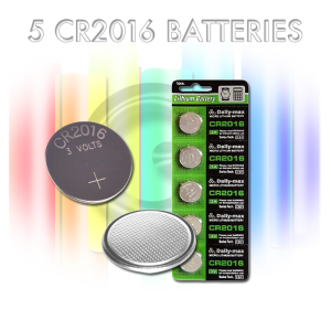 Replacement Cr2016 Button Cell Batteries