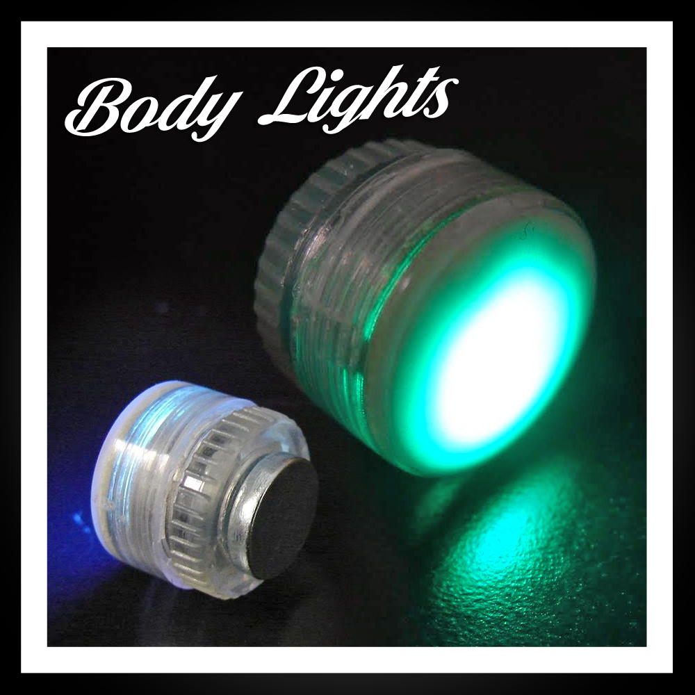 LED Flashing Body Lights