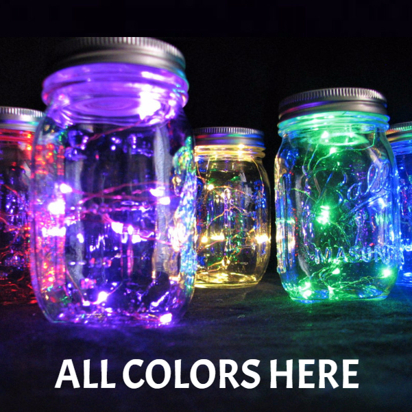 10 Colorful Fairy Light Led S On Copper Wire With