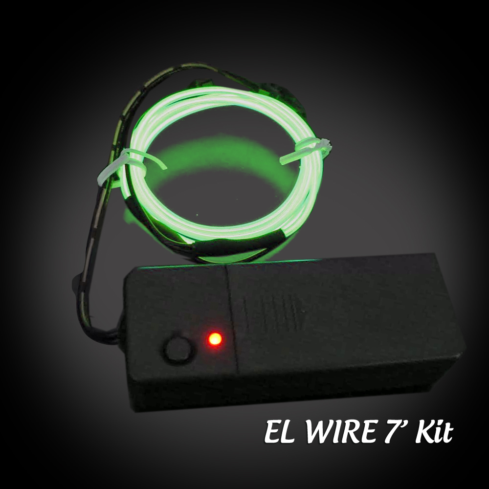 Extreme Glow 7 Foot El Wire Kit