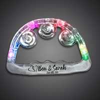 Custom Printed Light Up Tambourines