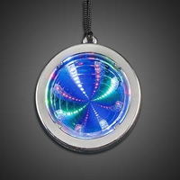 Flashing Silver Tunnel Necklace