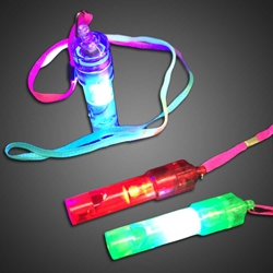 Flashing Toy Roll Whistle whistle, light up necklace, flashing necklace, cheap necklace, whistle, toy, whistle,favors, halloween, rave, EDM, festival