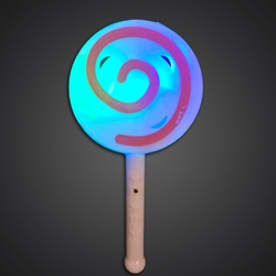 LED Flashing Lollipop Toy White Plastic LED Toy, Lighted Lollipop, Light Up Lollipop, birthday party toy, gift bag toy, flashing lollipop, kids, toys, summer