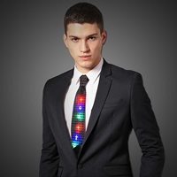 LED Sequin Neck Tie