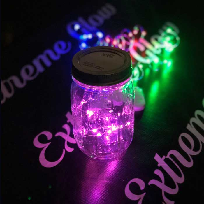Hot Pink LED Fairy Wire, 10 LEDs Coin Cell Batteries  Firefly Mason Jar, String Light with Timer, Silver wire string light, dew drop LEDs, Silver Wire string lights, wire string lights, wedding, centerpiece, center piece, decoration, decor, christmas, tree, wreath, flower, costume