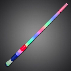 Rainbow Lightsaber sparkle, wand, LED Sword, Lighted Sword, Flashing sword, battery-operated sword, light saber, flashing blade, light up sword, star wars, vending, kids, birthday, fundraiser