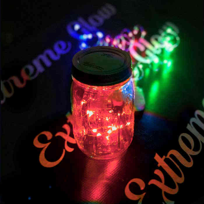 Red LED Fairy Wire, 10 LEDs Coin Cell Batteries Firefly Mason Jar, String Light with Timer, Silver wire string light, dew drop LEDs, Silver Wire string lights, wire string lights, wedding, centerpiece, center piece, decoration, decor, christmas, tree, wreath, flower, costume