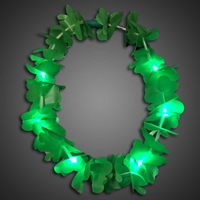 St Patricks Day Shamrock Necklace